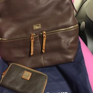 Authentic Dooney & Bourke hobo bag